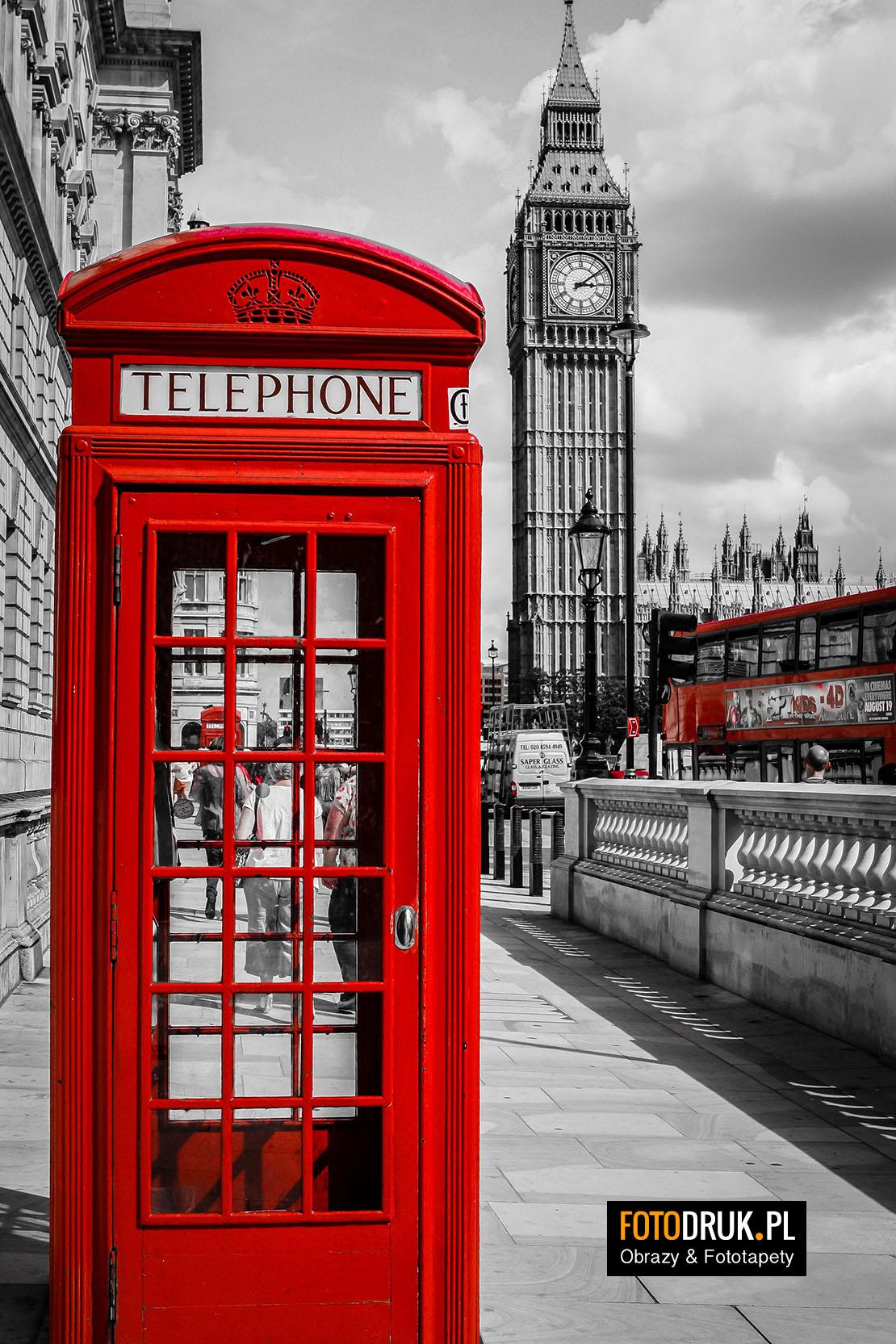Londyn - Wakacje w Anglii - Obrazy na płótnie & Fototapety