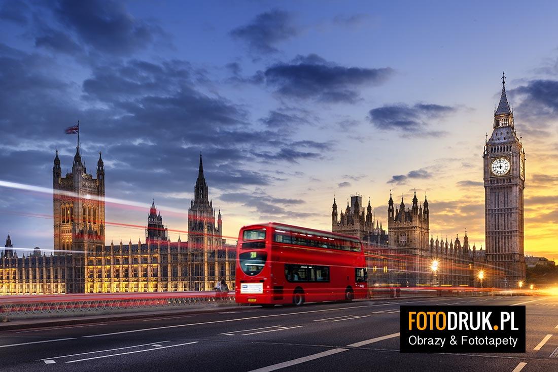 Londyn, Czerwony Autobus, Big Ben