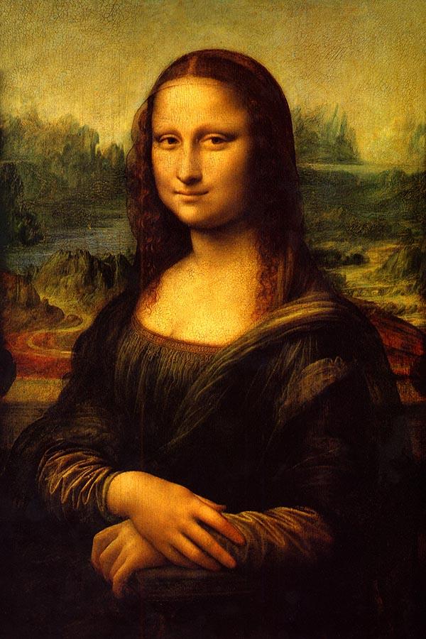 Mona Lisa Leonardo da Vinci - obraz wydrukowany na płótnie