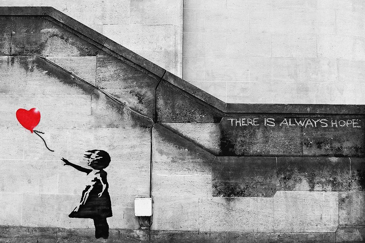 Banksy - Dziewczynka z balonem