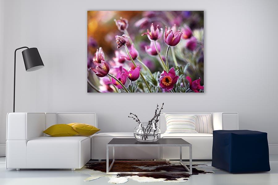 Obrazy na płótnie z kwiatami sposobem na oryginalną aranżację wnętrza